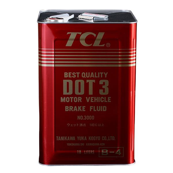 TCL ブレーキフルード DOT3 18L缶