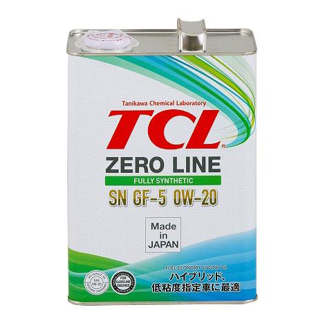 TCLエンジンオイル0W-20ゼロライン