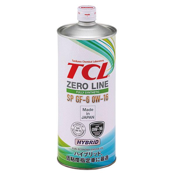 エンジンオイルZERO LINE 0W-16
