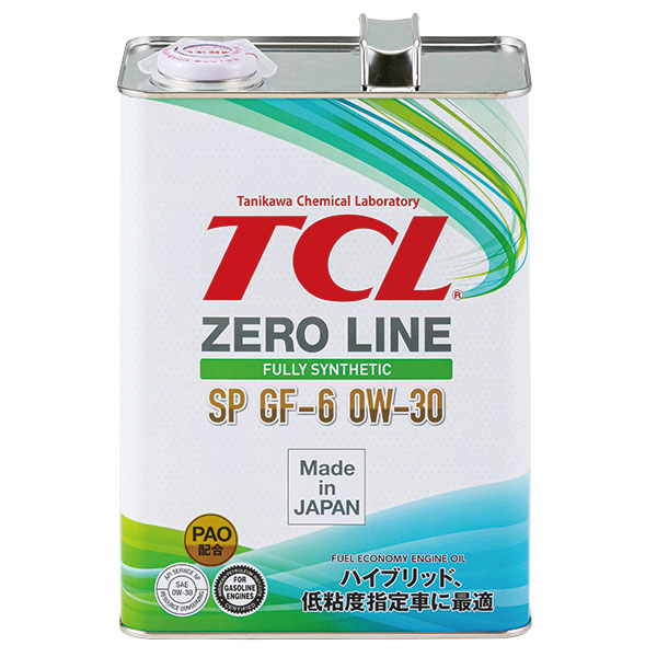 エンジンオイルZERO LINE 0W-30