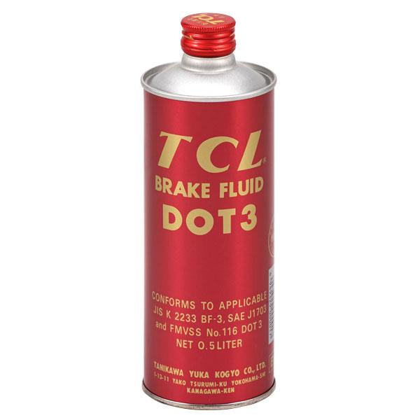 TCL ブレーキフルード DOT3 500ml缶