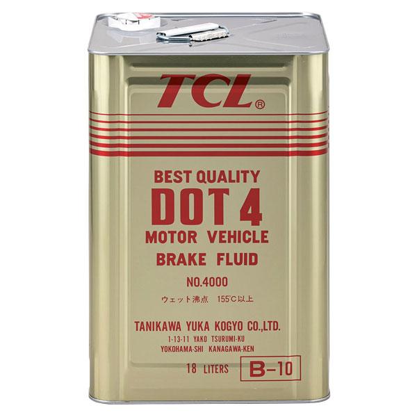 TCL ブレーキフルード DOT4 18L缶